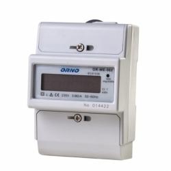 1-fazowy wskaźnik zużycia energii elektrycznej,80A