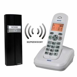Bezprzewodowy tele-domofon, biały, PORTA