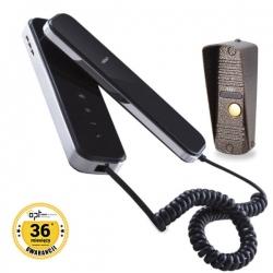 Zestaw domofonowy 1-rodzinny, wandal. CORS S