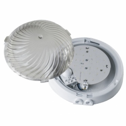 Oprawa AUTAN LED z czuj. mikrof, poliw. przeź.dław