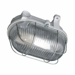 Oprawa oświetl. BURAN,IP54,100W, szkło,osł.stalowa