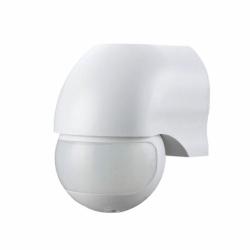 Czujnik ruchu 180st. IP44, 1200W, biały