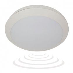 Plafon PASAT LED z czujnikiem mikrofalowym, biały