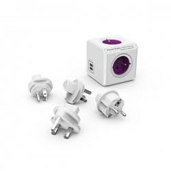 Rozgałęźnik PowerCube ReWirable USB+ 4 wtyczki