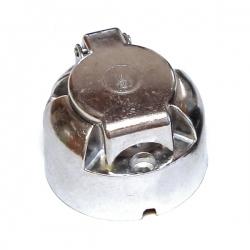 Gniazdo przyczepy aluminiowe 7 pinów, 12/24V