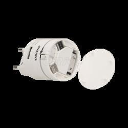 Ładowarka USB 3w1 (Iphone, android) 230V~, DC5V,1A