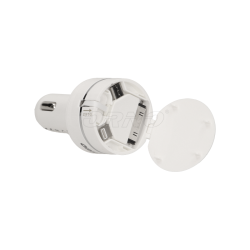Ładowarka samoch.USB 3w1 (iPhone, Android) DC5V,2A