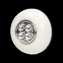 Bateryjna  lampka  4 LED samoprzylepna 3xAAA