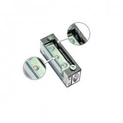 Elektrozaczep symetryczny z pamięcią i z blokadą