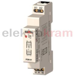 Przekaźnik elektromagnetyczny PEM-01 230V AC/ DC