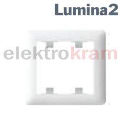 Ramka 1-krotna lumina2 ( biały )