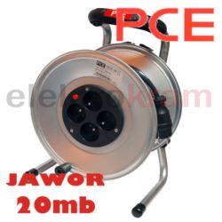 Przedłużacz na bębnie Jawor IP20 20m OW 3x2,5