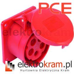 PCE Gniazdo tablicowe 32A 5P 400V 75x75 325-6F7
