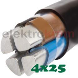 Kabel energetyczny ziemny 06/1kV YAKXS 4x25 SE