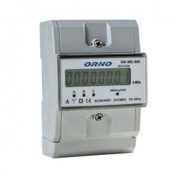 3-fazowy wskaźnik energii elektrycznej 80A