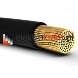 Przewód linka H05V-K LGY 2,5 500V czarny.