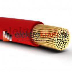 Przewód linka H07V-K LGY 35 750V czerwony